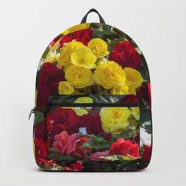 Begonias in Flower Backpack