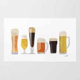 Beer Mugs Rug