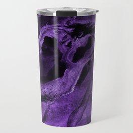 Purple watercolor abstract no.dd1708331p Travel Mug