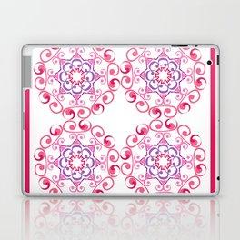 Grace Mandala Tiled - Pink White Laptop & iPad Skin