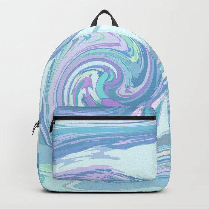 LIGHT BLUE MIX Backpack