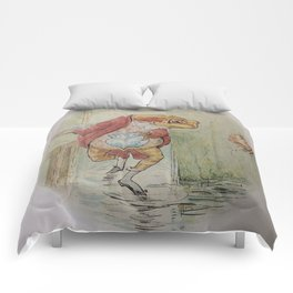 Jeremy Fisher by Beatrix Potter Comforters