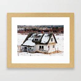 Usona Farm House 4 Framed Art Print
