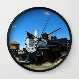 Denver & Rio Grande Steam Engine Wall Clock