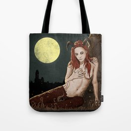 Witcher Succubus Tote Bag