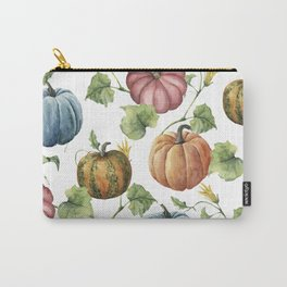 PUMPKINS WATERCOLOR Carry-All Pouch