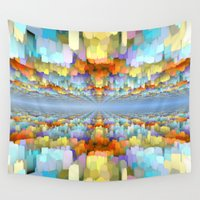 geology Wall Tapestries featuring Sci Fi Horizons by Phil Perkins