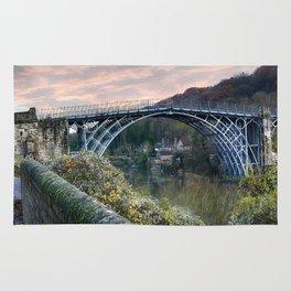 The Bridge across the Severn Gorge Rug