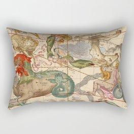 Star Atlas Vintage Constellation Map Ignace Gaston Pardies Rectangular Pillow
