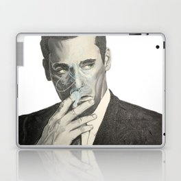 Don Draper's Blue Smoke Laptop & iPad Skin