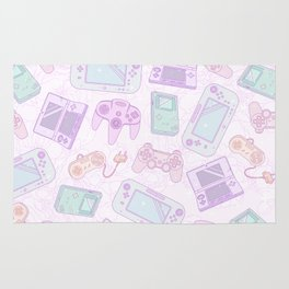 Gamer Girl Pattern Rug