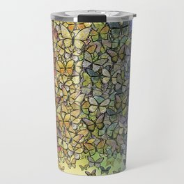 rainbow of butterflies aflutter Travel Mug