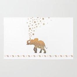 GOLD ELEPHANT Rug