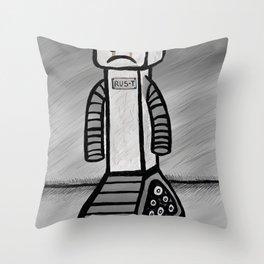 RU5-T the Robot Throw Pillow