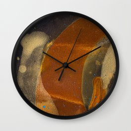 joelarmstrong_rust&gold_017 Wall Clock