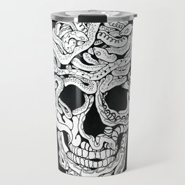 Skull of snakes Travel Mug