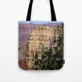 Angel's Window At Cape Royal Grand Canyon Tote Bag