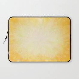 Golden Sunburst Laptop Sleeve