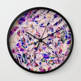 Paperclip Abstract - Another Glorious Day at the Office Wall Clock