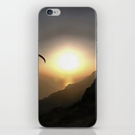 Paragliders Flying Without Wings iPhone Skin