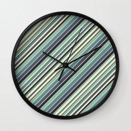 Just Stripes Wall Clock