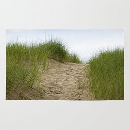 Trail over the Dune to the Summer Beach Rug