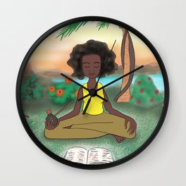 Woke Beauty Wall Clock