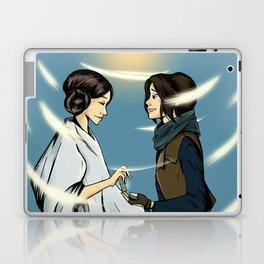 Leia's Message Laptop & iPad Skin