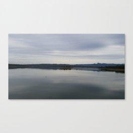 Kissing water  Canvas Print