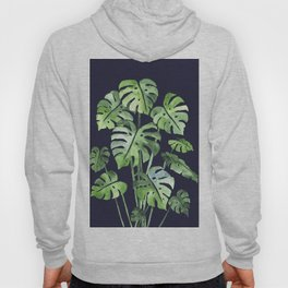 Delicate Monstera Blue #society6 Hoody