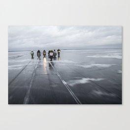 Ice Gang Canvas Print