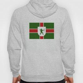 nottinghamshire region flag united kingdom great britain province Hoody