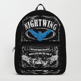 NIGTWING label whiskey style Backpack
