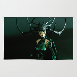 It's come to my attention that you don't know who I am. I am Hela. Odin's firstborn... Rug