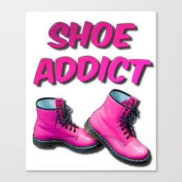 Shoe Addict Canvas Print