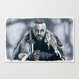 King Ragnar Canvas Print
