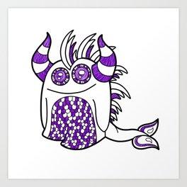 Aqua Bug Art Print