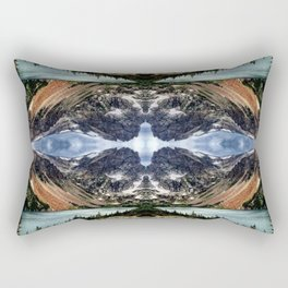 Diamond in the sky Rectangular Pillow