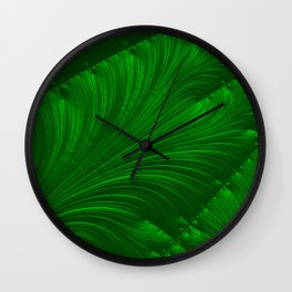 Renaissance Green Wall Clock