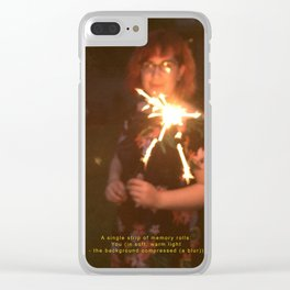 A Single Strip of Memory Rolls Clear iPhone Case