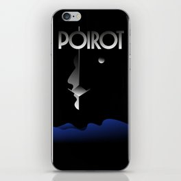 Agatha Christie s Poirot iPhone Skin