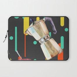 Coffee Pop Art Collage Good Morning Laptop Sleeve