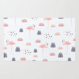 Minimal Flamingo Rug
