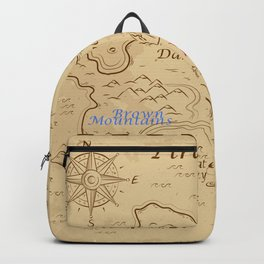 Treasure map Backpack