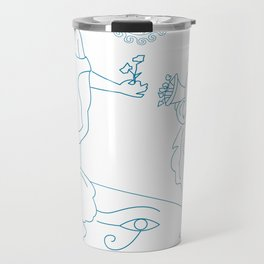 Mythological folklore art Travel Mug