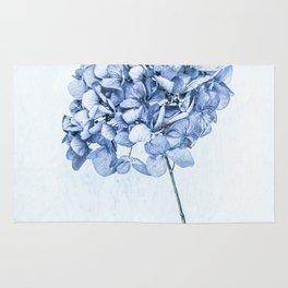 Hydrangea Blue 2 Rug