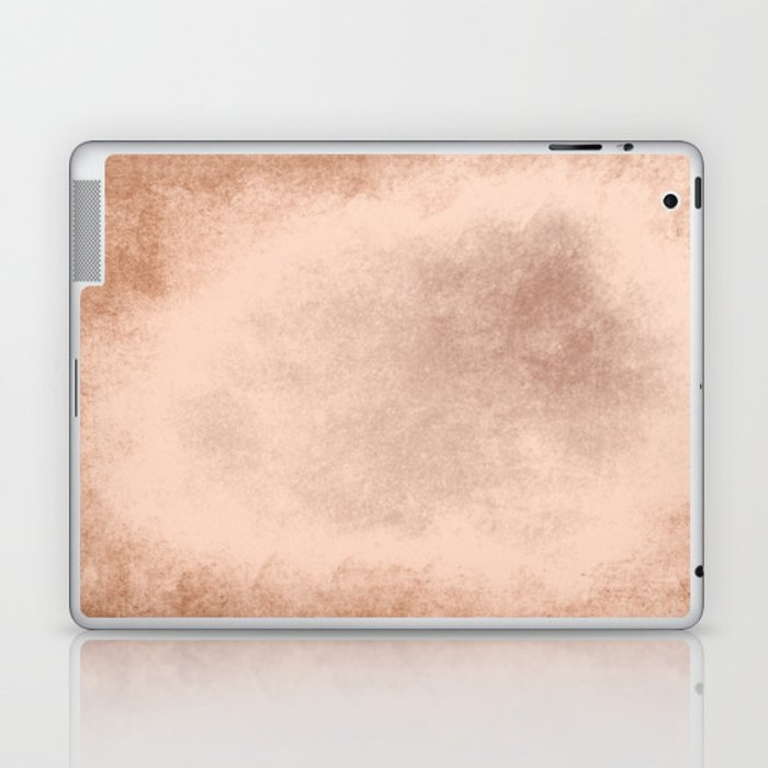Brown grunge texture Laptop & iPad Skin