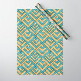 Geometric pattern Modern Wrapping Paper