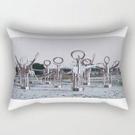 Flock 03 Rectangular Pillow