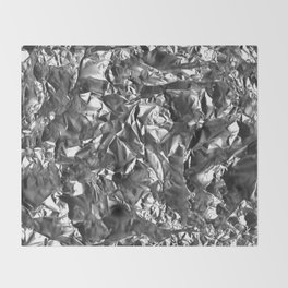 Silver Crush Throw Blanket